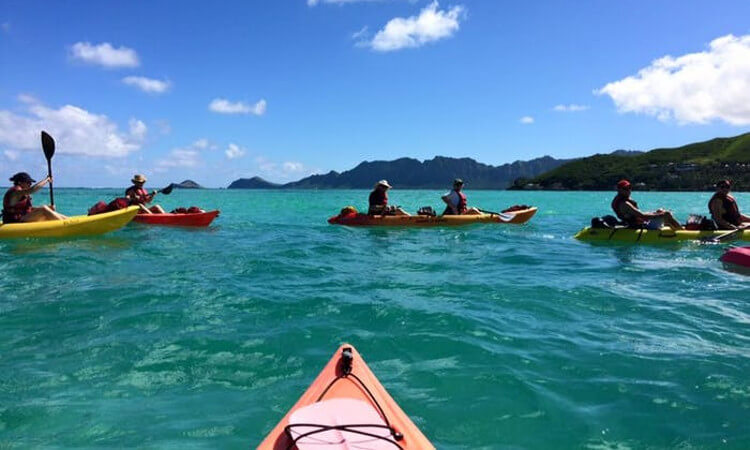 Mokulua Islands Kayak Tour1