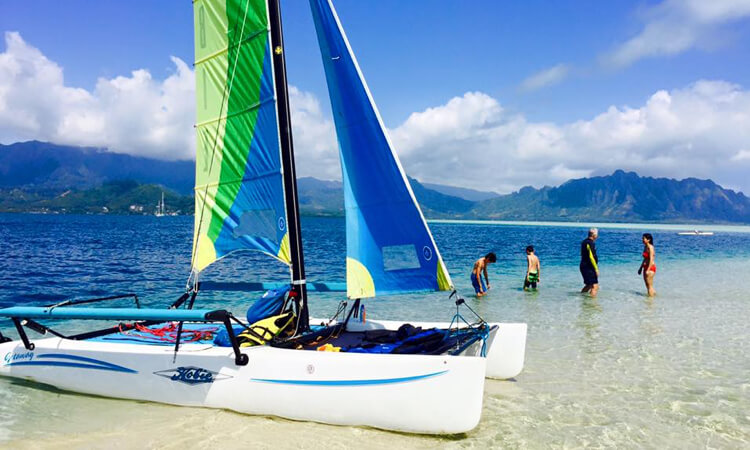 Holokai Hobie Catamaran Adventure Sailing Tour1