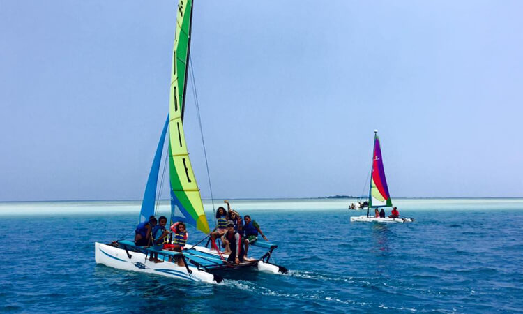 Holokai Hobie Catamaran Adventure Sailing Tour2
