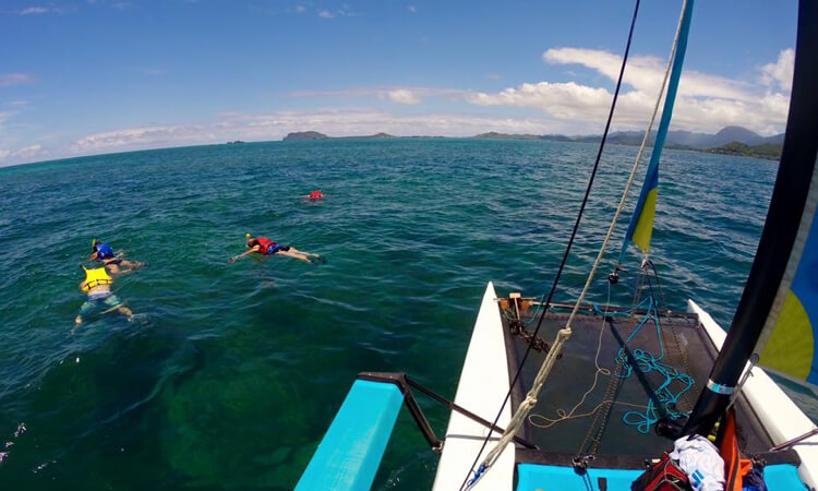 Holokai Hobie Catamaran Adventure Sailing Tour4