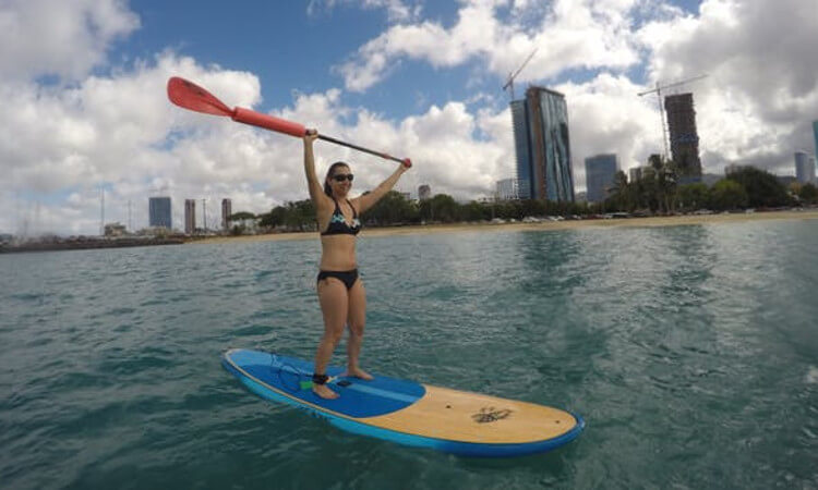 Private Stand Up Paddle Boarding Lesson and Tour3