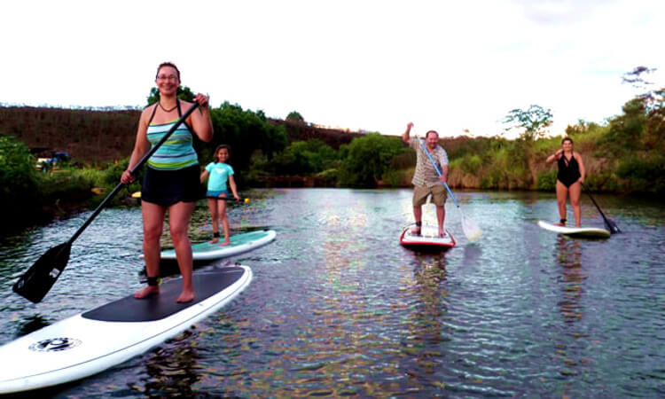 Private Stand Up Paddle Lesson1