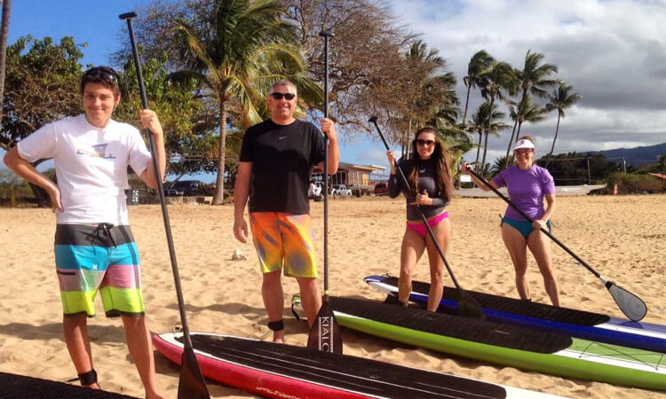 Private Stand Up Paddle Lesson2