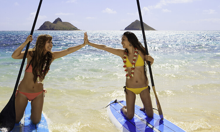 Stand Up Paddle (SUP) Lesson3