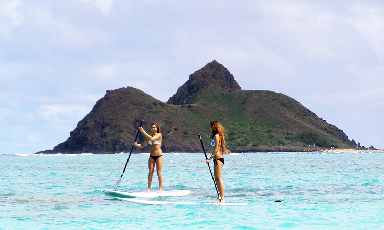 Stand Up Paddle (SUP) Lesson4